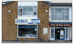 DRS Electrical Shop Front